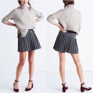 ‼️NWT Madewell Shimmer Mini Skirt 12‼️